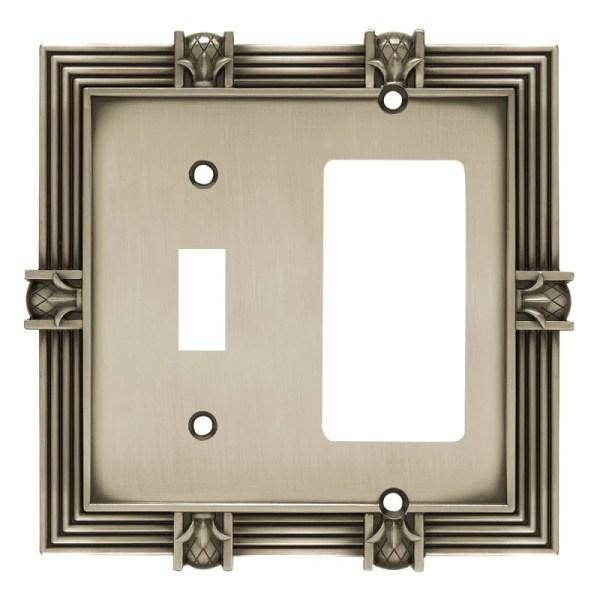 Liberty Hardware 64466 52 Wide Single Switch Plate