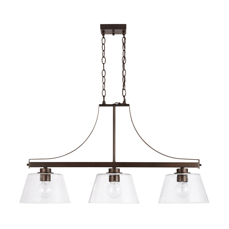 Capital Lighting 3 Light 36 W Linear Chandelier