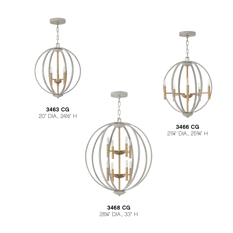 Hinkley Lighting 3466SB Euclid 6-Light 25.75