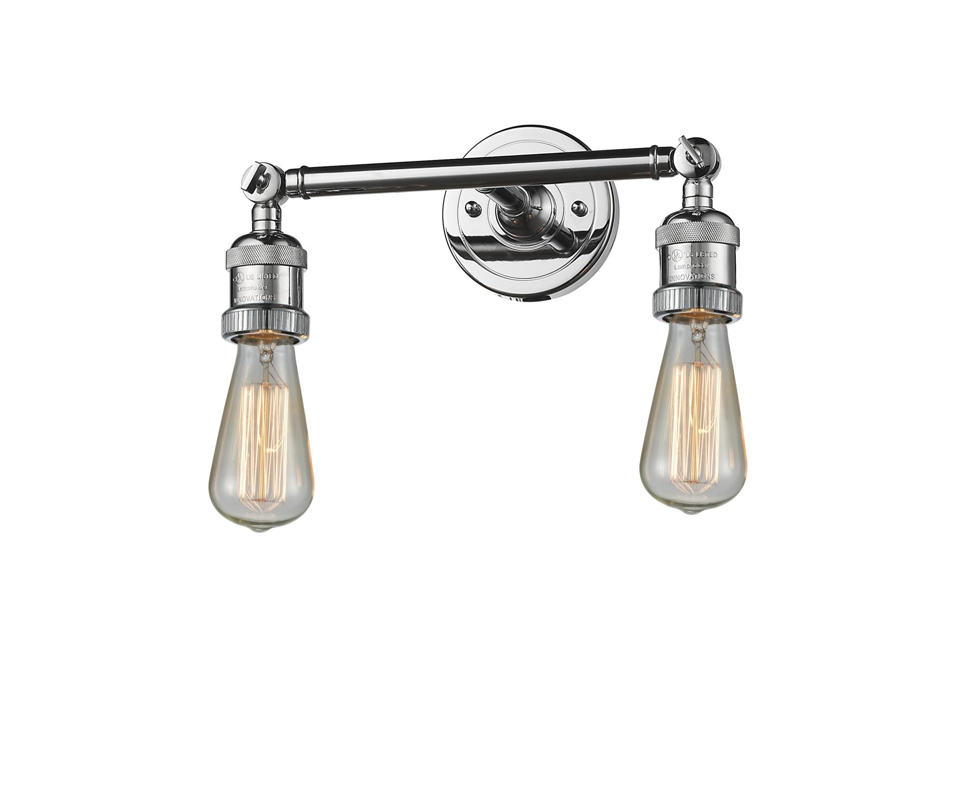 Innovations Lighting 208 Pc 2 Light 11 W Bathroom Vanity