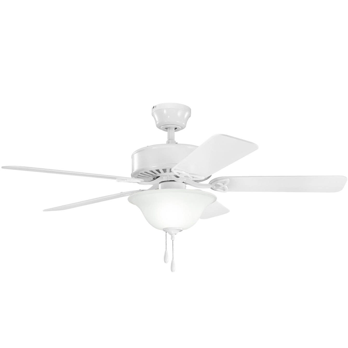 hight resolution of details about kichler 330110 50 indoor ceiling fan with blades light kit downrod and pull c