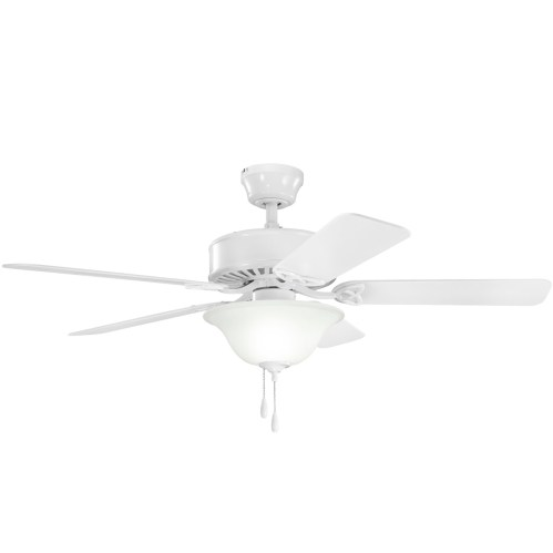 small resolution of details about kichler 330110 50 indoor ceiling fan with blades light kit downrod and pull c