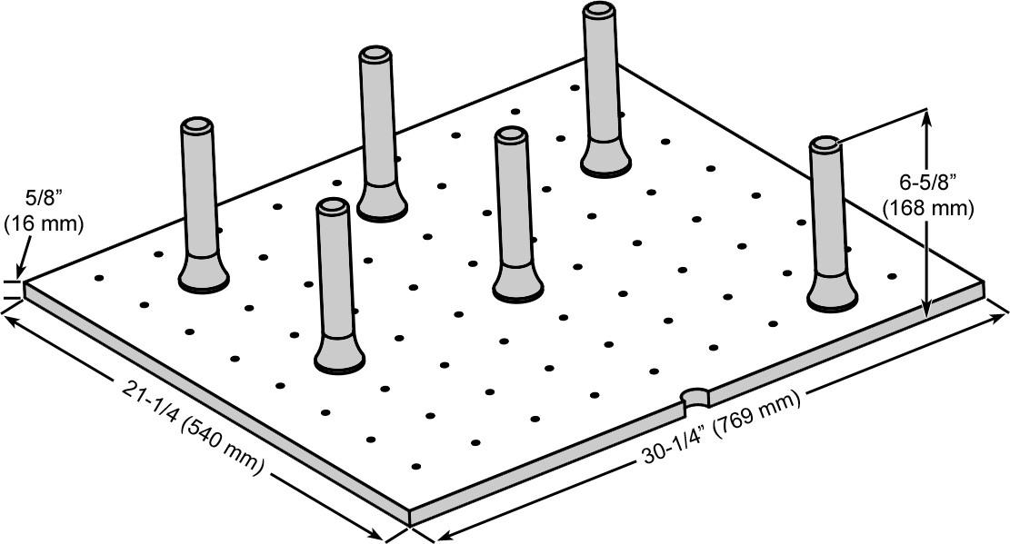 Rev-A-Shelf 4DPS-3021 4DPS Series Medium Trimmable Drawer