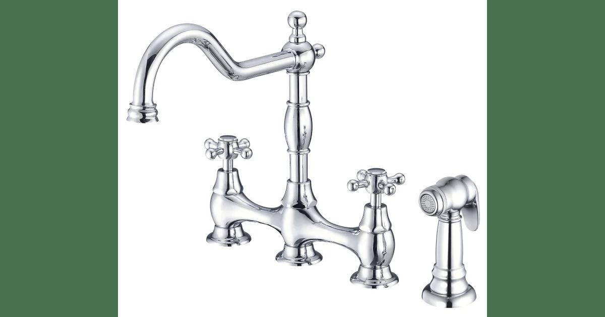 danze d404457 opulence kitchen faucet with metal build com