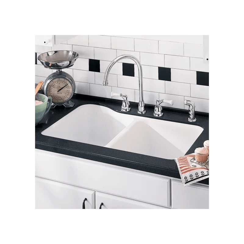 american standard silhouette kitchen sink contemporary lighting faucet.com | 7145.001.345 in bisque by