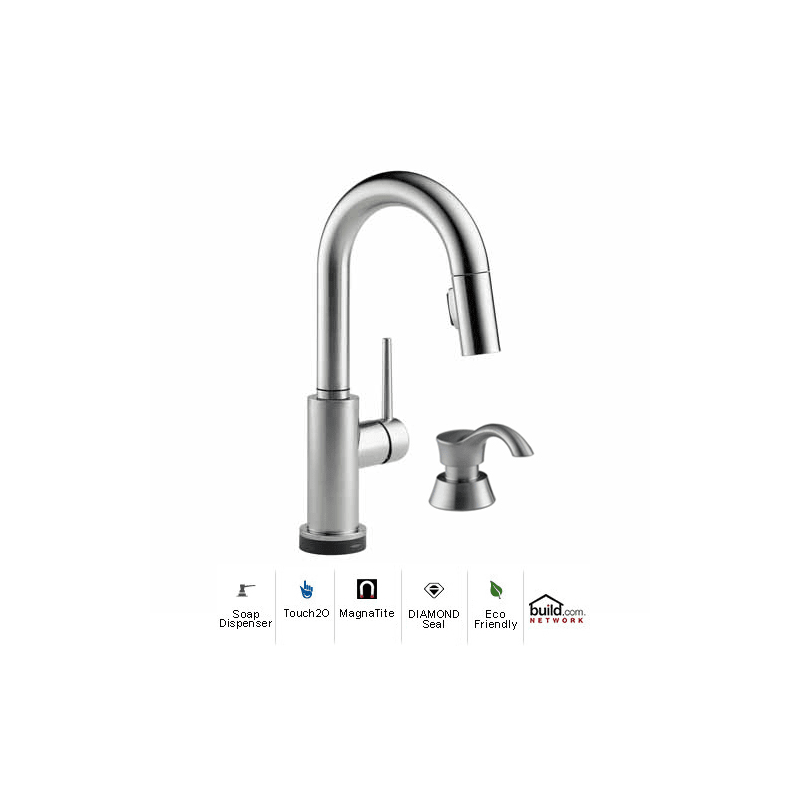 Delta 9959T-AR-DST-SD Arctic Stainless Trinsic Pull-Down