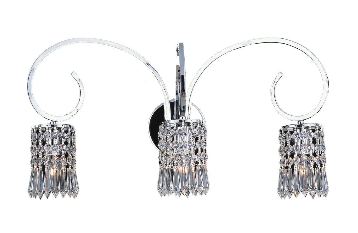 Elk Lighting 3 Polished Chrome Clear Optix 3 Light