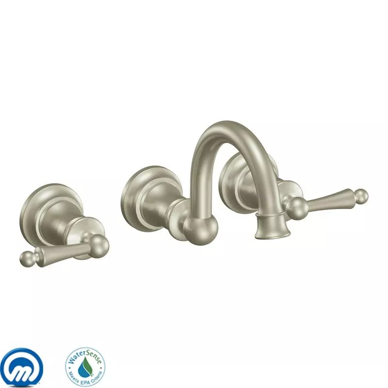 moen kitchen faucets parts cabinets indianapolis faucet.com | ts416bn in brushed nickel by