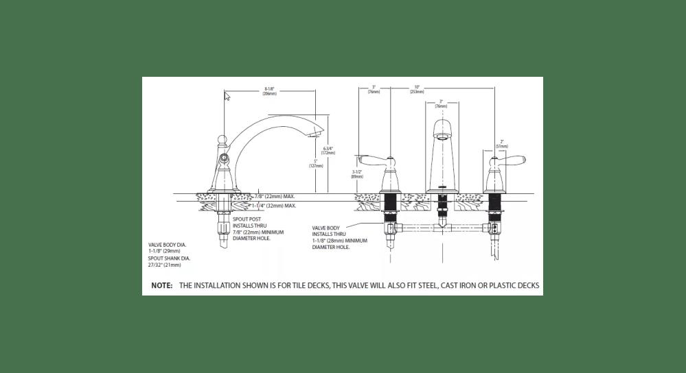 medium resolution of faucet com t933bn in brushed nickel by moen