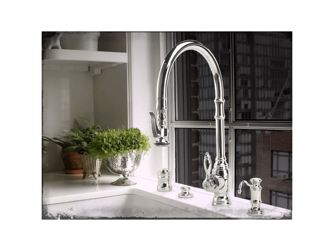 waterstone annapolis kitchen faucet cabinets doors for sale faucet.com | 5500-ch in chrome by