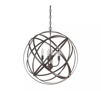 Capital Lighting 4234RS Russet Axis 4 Light Full Sized