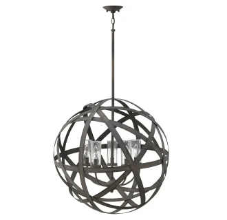 Hinkley Lighting 29705VI Vintage Iron Carson 5 Light 26-1