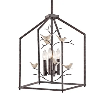 Kichler 43588RT Rust Tippi Lantern Style Pendant Light