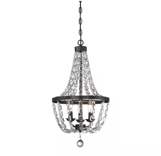Savoy House 1-8733-3-28 Oiled Burnished Bronze 3 Light