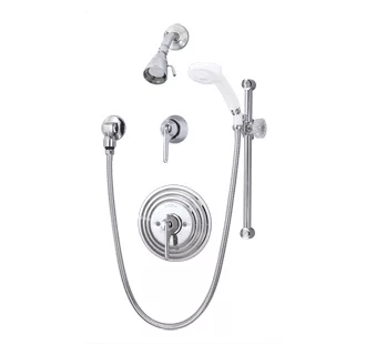 Symmons C-96-500-B30-V-X Chrome Temptrol Commercial Shower