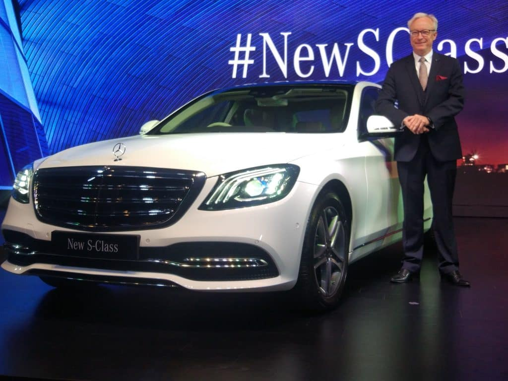 2018 MercedesBenz SClass Facelift Launched Price in