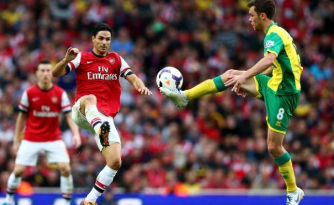 Norwich City Vs Arsenal Live Streaming English Premier