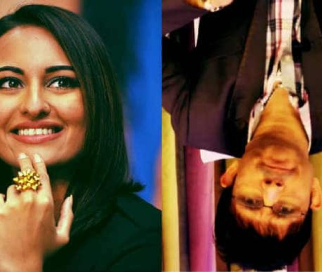 Sonakshi Sinha Wants Krk To Be Hung Upside Down For His Kim Kardashian Butt Comment Entertainment News India Com