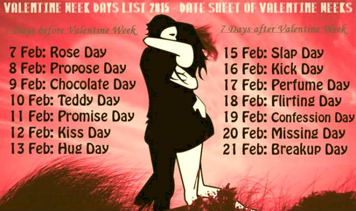 Anti Valentines Day 2016 Dates For Slap Day Kick Day