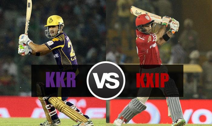 Kkr Beat Kxip By 7 Runs  Live Score Kolkata Knight Riders