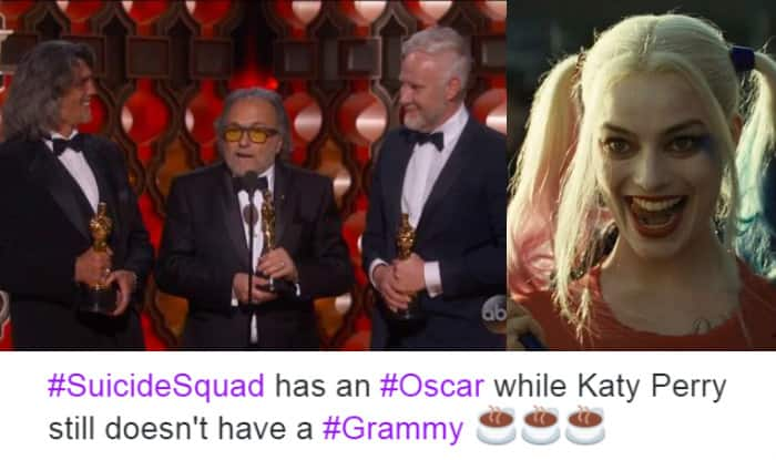 Oscars 2017 Suicide Squad Won The Academy Award For Best Makeup