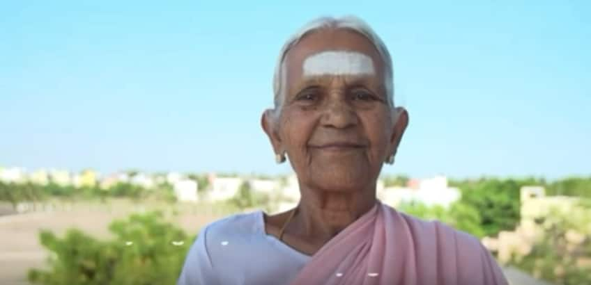 Image result for 90 year old woman in tamilnadu