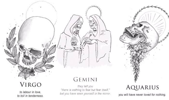 Artist's Take on What Different Zodiac Signs Mean is