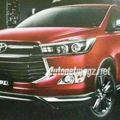 Toyota All New Innova Venturer Upgrade Grand Avanza Crysta Variant Images Leaked Before Launch
