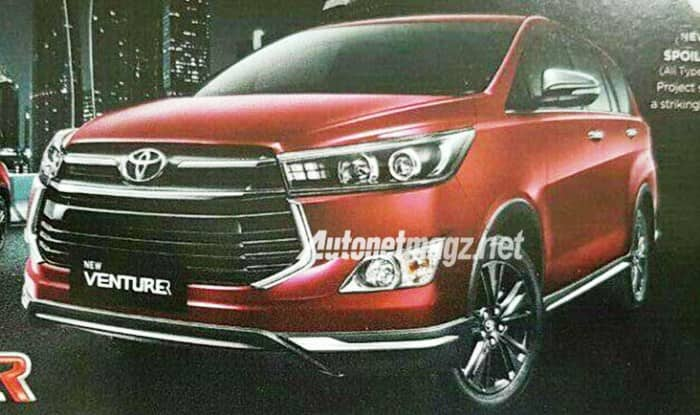 all new innova venturer spesifikasi grand avanza g 2016 toyota crysta variant images leaked before launch