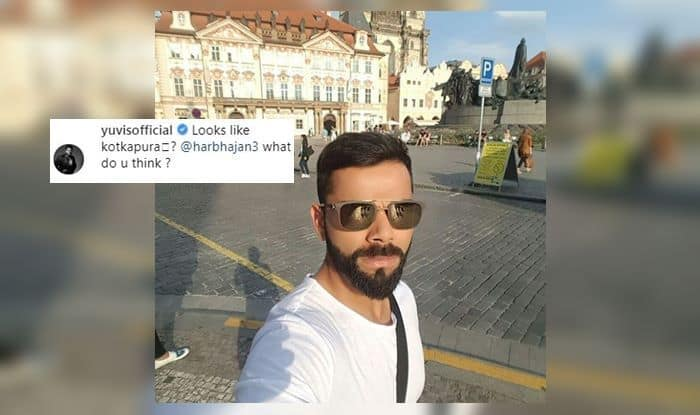 Image result for Yuvraj Singh trolls Virat Kohli on Instagram
