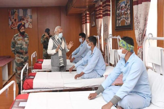 Galwan Clash: PM Modi visited soldiers injured in the clash