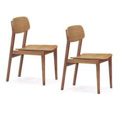 Bamboo Dining Chair Cool Office Chairs Greenington Currant Set Of Two Sustainable
