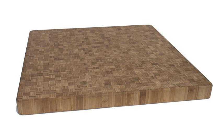 End Grain Cutting Board Thickness