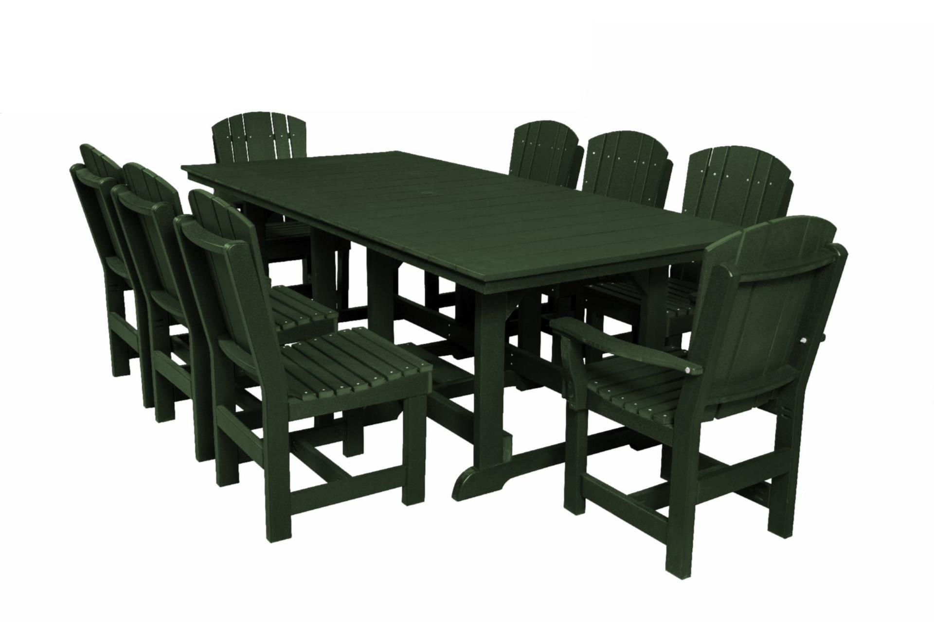 8 Chair Dining Set Outdoor Poly Dining Set With 8 Chairs