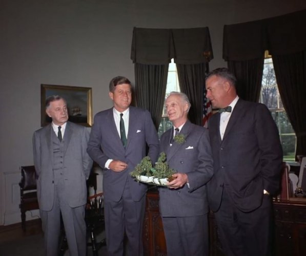 JFK Irish ambassador