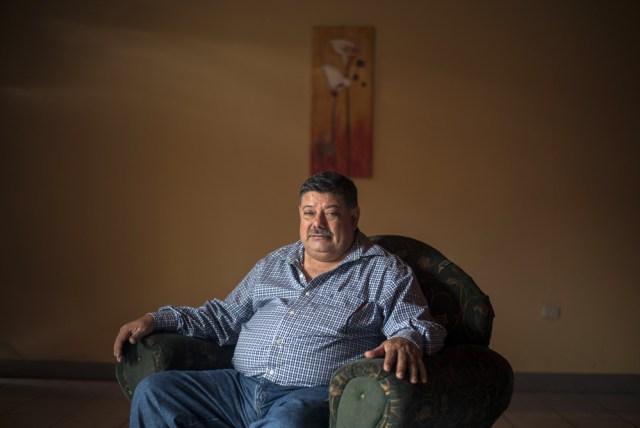 José Ramón Berríos en su casa, en Jinotega. Foto: Óscar Navarrete / La Prensa.