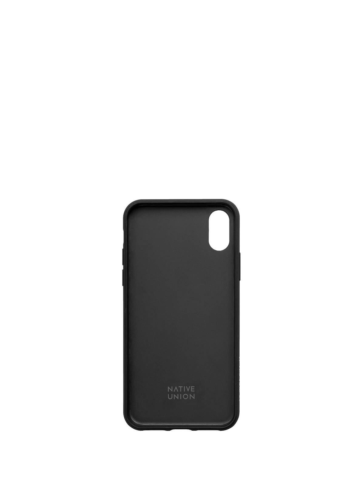 NATIVE UNION 水磨石手機殼 - 宇宙黑 ( iPhone XS / iPhone X ) - LUXJOY 精品購物網