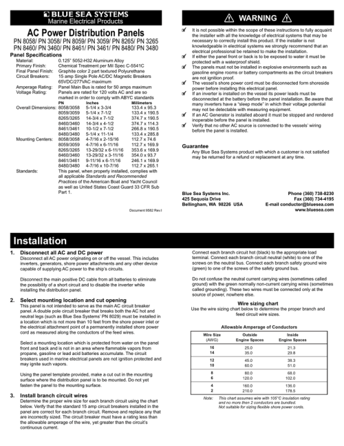 small resolution of ac 3 position toggle circuit breaker panel owners manual