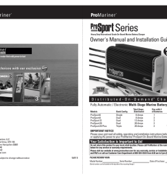 promariner prosport 1 5 amp portable maintainer manual [ 1024 x 791 Pixel ]