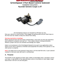 grimmspeed 3 port boost control solenoid hyundai genesis coupe 2 0t installation instructions [ 791 x 1024 Pixel ]