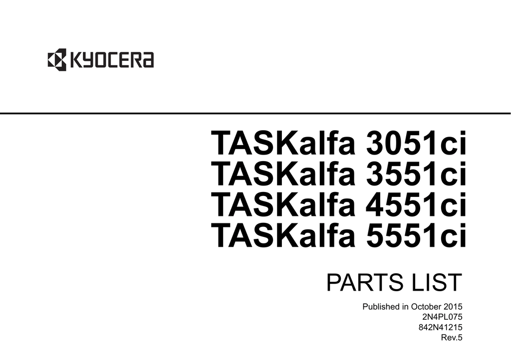 TASKalfa-3051ci-3551ci-4551ci-5551ci- Part List.pdf