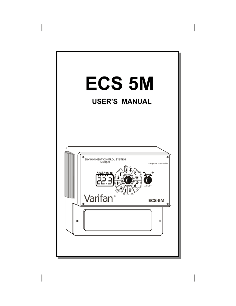 medium resolution of multifan varifan ecs 5m owner s manual