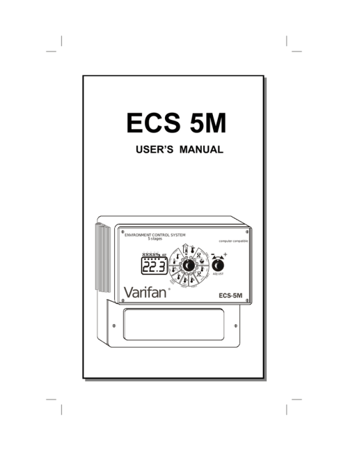small resolution of multifan varifan ecs 5m owner s manual