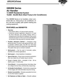 nordyne b5bm furnace wiring diagram simple wiring diagramsgb5bm series air handler manualzz com york furnace wiring [ 791 x 1024 Pixel ]