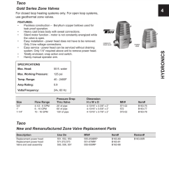 zone valves 4 taco gold series zone valves [ 796 x 1024 Pixel ]