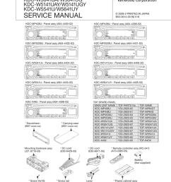 service manual kdc mp408u mp438u x492 kdc mp5039u mp5539u kdc w5041ua w5041ug [ 791 x 1024 Pixel ]
