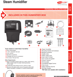 steam humidifier included in this humidifier box professional installation guide [ 791 x 1024 Pixel ]