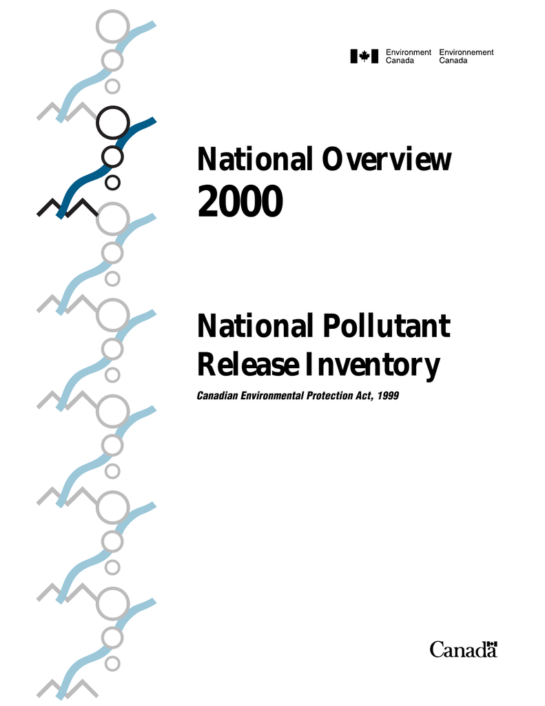 2000 National Overview National Pollutant Release