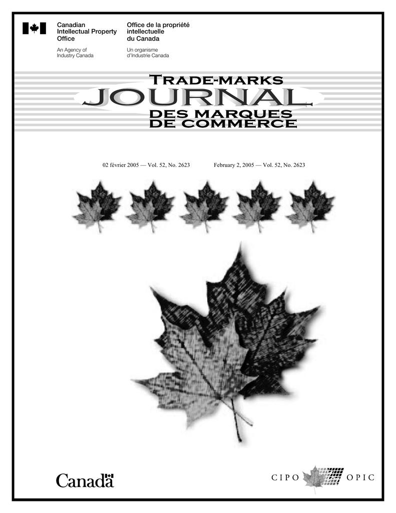 Office de la propriété Canadian intellectuelle