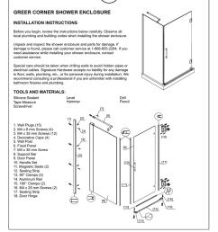 corner shower diagram wiring diagram note corner shower diagram [ 791 x 1024 Pixel ]